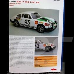 """Livre """"Porsche 911 en compétition au 1/43""""  ETAI 9782726894958"""