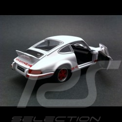 Porsche 911 Carrera RS 2.7 1973 blanche/rouges Welly