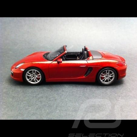 Porsche Boxster S 981 rouge 1/43 Spark WAP0202020C