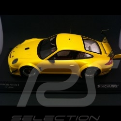 Porsche 997 GT3 R jaune 2010 1/18 Minichamps 151108902