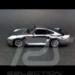 Porsche 959 chrome 1/43 Minichamps WAP02060316