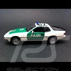 Porsche 924 Police Autoroutière Dusseldorf 1984 1/43 Minichamps 400062190