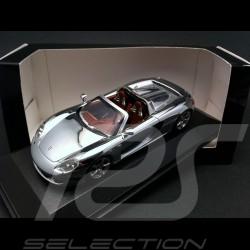 Porsche Carrera GT chrome 1/43 Minichamps