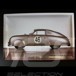 Plaque acier Porsche 356 LM 1951