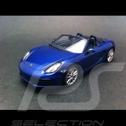 Porsche Boxster S 981 2012 bleu 1/43 Minichamps 410061030