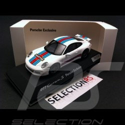 Porsche 911 type 991 Carrera S Exclusive Martini white 1/43 Spark WAX20140005