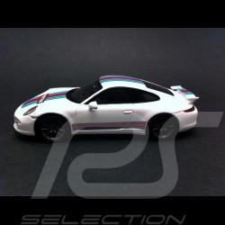 Porsche 911 typ 991 Carrera S Exclusive Martini weiß 1/43 Spark WAX20140005