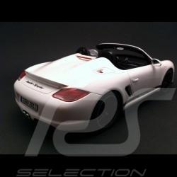 Porsche Boxster Spyder blanc 1/18 GT Spirit GT017