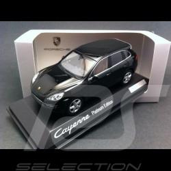 Porsche Cayenne Platinium Edition noir 1/43 Minichamps WAP0200160E