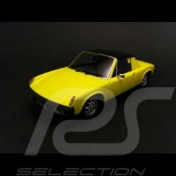 Porsche 914 jaune 1/43 Schuco 450373000
