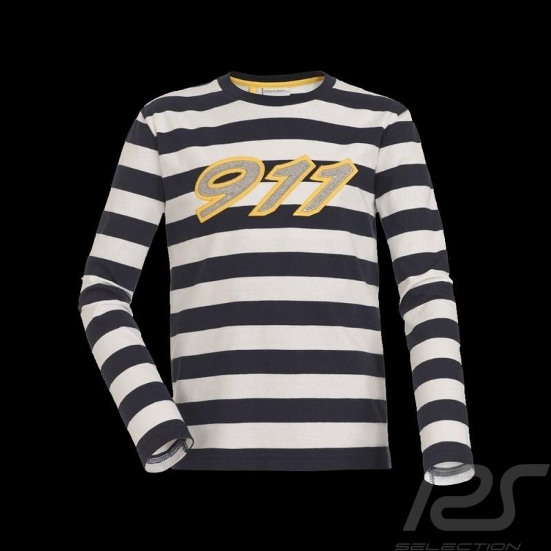 T-shirt rayé Porsche Design WAP041 - enfant
