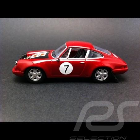 Porsche 911 S Rallye Bavière 1970 n°7 1/43 IXO CCC206