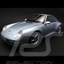 Porsche 993 Carrera 4S gris 1/18 GT Spirit GT012A