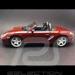 Porsche Boxster S 987 ruby red 1/18 Maisto 31123