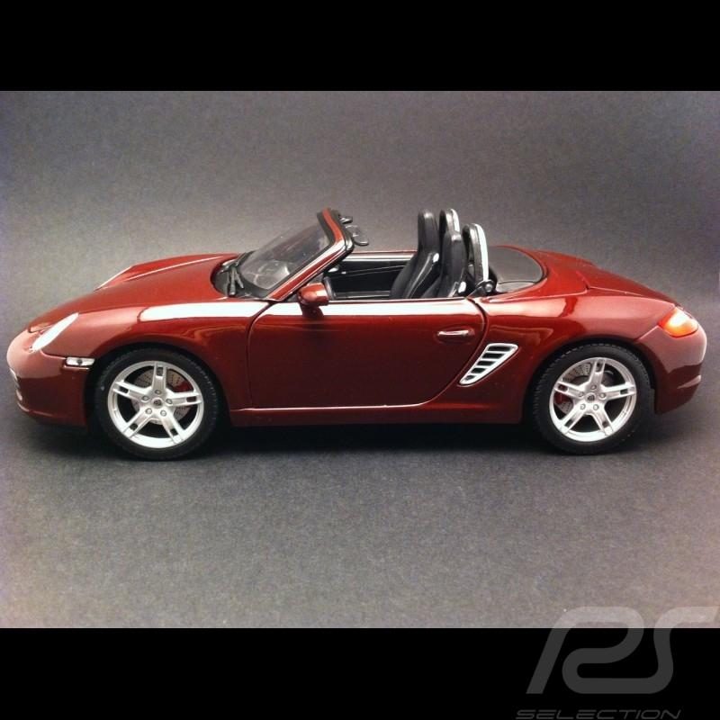 Porsche Boxster S 987 ruby rot 1/18 Maisto 31123