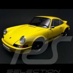 Porsche 911 Carrera RS 2.7 1973 jaune-noires 1/18 Autoart 78053