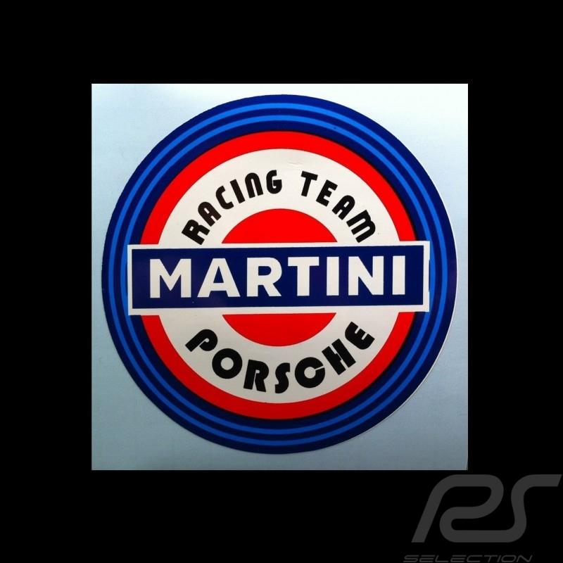 Porsche Martini Racing Team Autocollant Sticker Aufkleber 9 cm