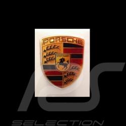 Wappen-Aufkleber 3D Porsche 2,5 x 2 cm