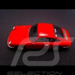 Porsche 901 1963 rouge 1/43 Spark S1369