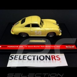 Porsche 356 Coupè Monte Carlo 1959 n°18 1/43 Brumm S058