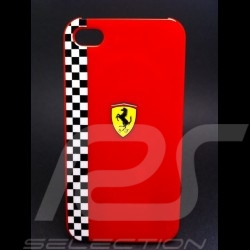 Coque IPhone 4 / 4S rouge Ferrari 5100061600