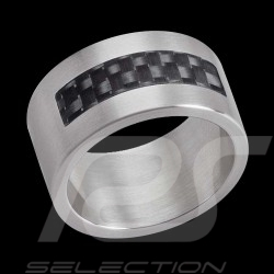 Ring stainless steel & carbon Swatch JRB015