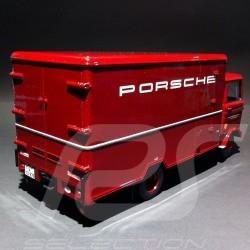 Camion Mercedes - Benz LP608 Porsche rouge 1/18 Premium Classixxs 30040