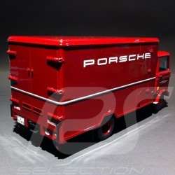 Truck Mercedes - Benz LP608 Porsche red 1/18 Premium Classixxs 30040