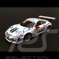 Porsche 911 typ 991 GT3 Cup Aiello Le Mans 2014 n° 26 1/43 Spark MAP02099214