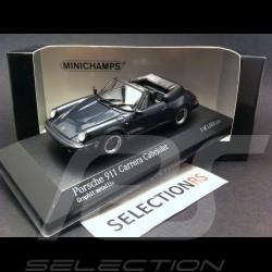 Porsche 911 Carrera Cabriolet 1983 grey 1/43 Minichamps 430062037