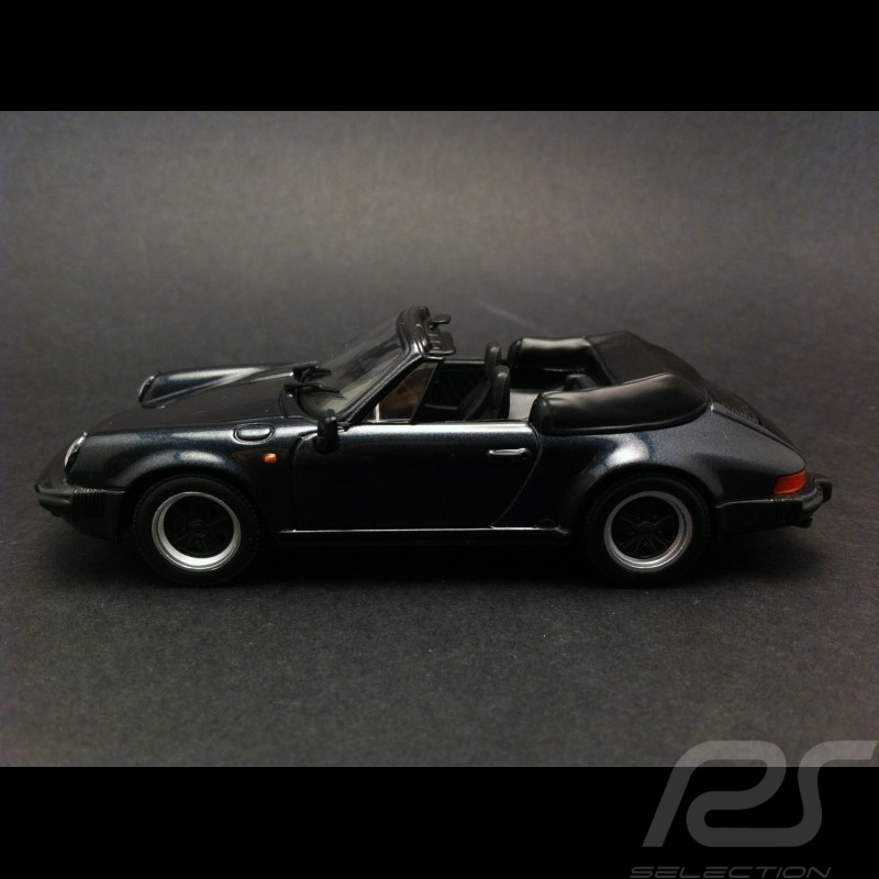 Porsche 911 Carrera Cabriolet 1983 grau 1/43 Minichamps 430062037