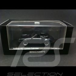 Porsche 911 Carrera Cabriolet 1983 gris 1/43 Minichamps 430062037