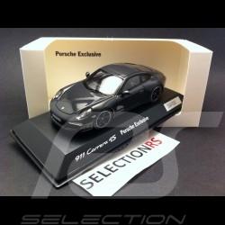 Porsche 991 Carrera 4S Exclusive grau 1/43 Spark WAX20140015