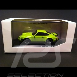 "Porsche 911 Turbo 3.0 "" 40 Years Turbo "" green 1/43 Welly MAP01993114"