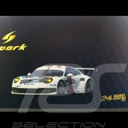 Porsche 911 type 991 GT3 RSR n° 92 Class winner Le Mans 2013 1/18 Spark 18S102