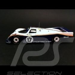 Porsche 962 C LH Vainqueur Le Mans 1987 n° 17 1/43 Spark MAP02028713