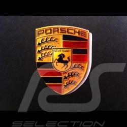 Autocollant emblème Porsche 40x30 cm WAP013004