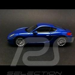 Porsche Cayman 2013 bleu 1/43 Norev 750031