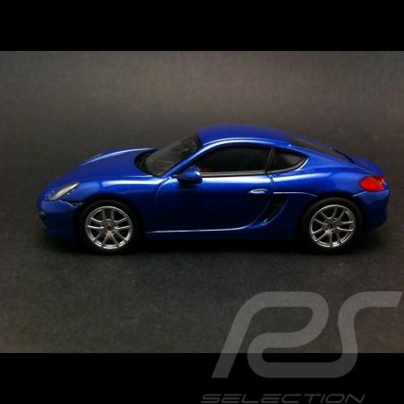 Porsche Cayman 2013 blau 1/43 Norev 750031