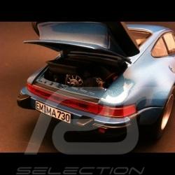 Porsche 911 Turbo 3.3 1977 blau 1/18 Norev 187539
