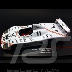 Porsche 936 n° 11 Vainqueur Winner Sieger Le Mans 1981 1/43 Ixo LM1981