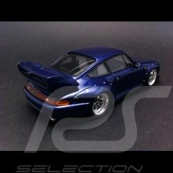 Porsche 911 type 993 GT2 1995 blue 1/43 Spark S4197