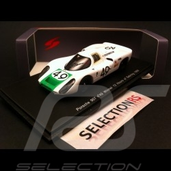 Porsche 907 Vainqueur Winner Sieger Sebring 1968 n°49 1/43 Spark S4161