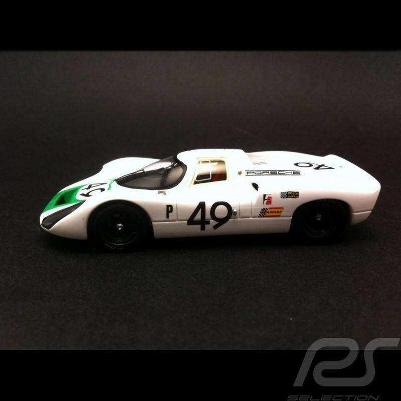 Porsche 907 Winner Sebring 1968 n°49 1/43 Spark S4161