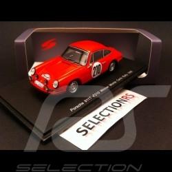 Porsche 911 T winner Monte Carlo 1968 n° 210 1/43 Spark S4021