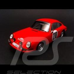 Porsche 911 T Vainqueur winner sieger Monte Carlo 1968 n° 210 1/43 Spark S4021