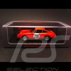 Porsche 911 T sieger Monte Carlo 1968 n° 210 1/43 Spark S4021