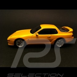 Porsche 968 Turbo S 1993 jaune 1/43 Spark S3456