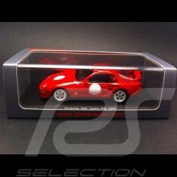 Porsche 968 Turbo RS 1993 rot 1/43 Spark S3457