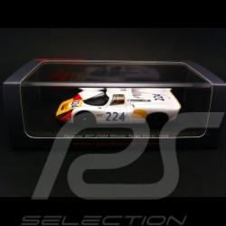 Porsche 907 vainqueur winner Sieger Targa Florio 1968 n° 224 1/43 Spark S4160
